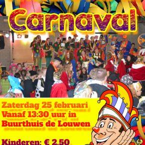 Kinderbal Carnaval 25 februari